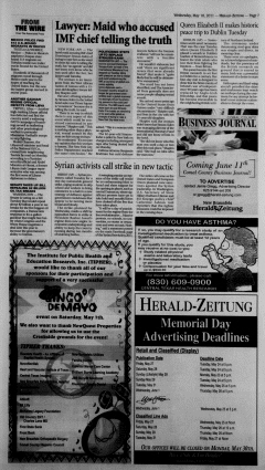 New Braunfels Herald Zeitung, May 18, 2011, Page 7