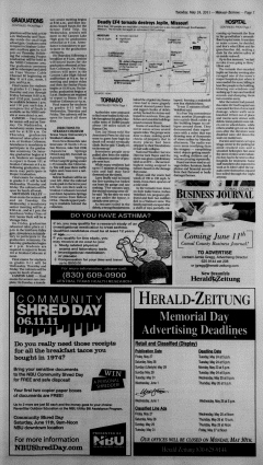 New Braunfels Herald Zeitung, May 24, 2011, Page 7