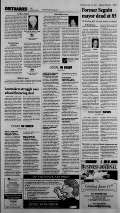 New Braunfels Herald Zeitung, May 26, 2011, Page 3
