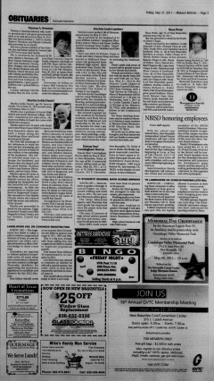 New Braunfels Herald Zeitung, May 27, 2011, Page 3