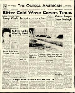 Odessa American, January 25, 1961, Page 1