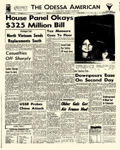 Odessa American, August 28, 1969, Page 1