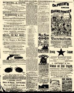San Antonio Daily Express, May 27, 1886, Page 3