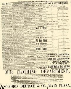 San Antonio Daily Express, May 27, 1886, Page 5