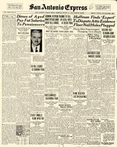 San Antonio Express, March 27, 1936, Page 1