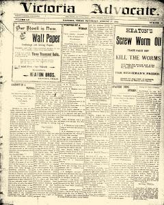 Advocate, August 17, 1901, Page 1