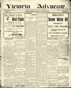 Advocate, August 31, 1901, Page 1