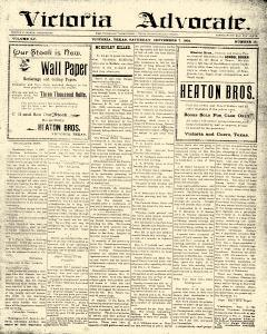 Advocate, September 07, 1901, Page 1