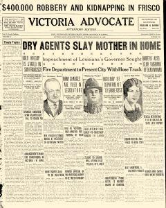 Advocate, March 26, 1929, Page 1