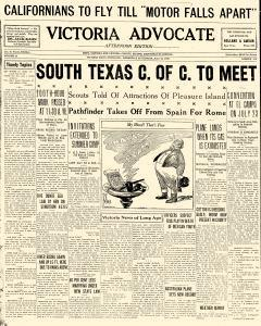Advocate, July 10, 1929, Page 1