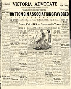 Advocate, September 10, 1929, Page 1