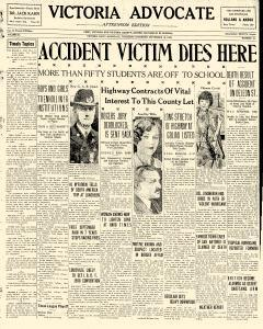 Advocate, September 19, 1929, Page 1