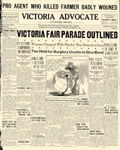 Advocate, September 25, 1929, Page 1
