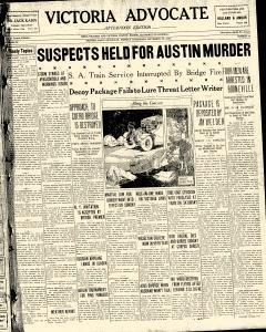 Advocate, September 30, 1929, Page 1