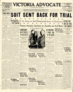 Advocate, March 22, 1933, Page 1