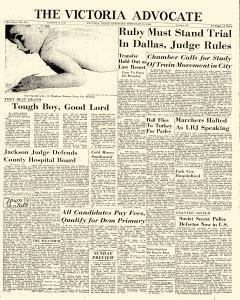 Advocate, February 15, 1964, Page 1