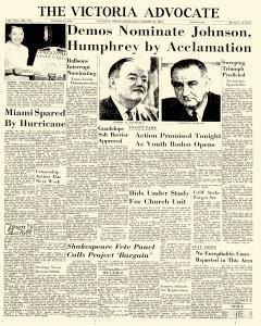 Advocate, August 27, 1964, Page 1