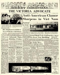 Advocate, December 24, 1964, Page 1