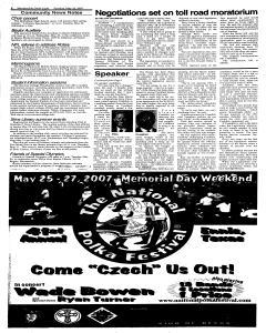 Waxahachie Daily Light, May 22, 2007, Page 8