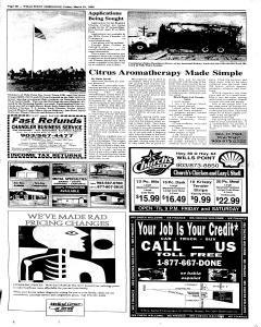 Wills Point Chronicle, March 25, 2005, Page 20