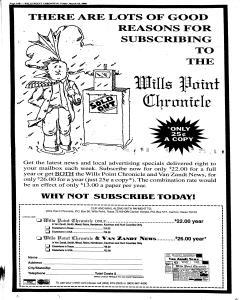 Wills Point Chronicle, March 25, 2005, Page 22