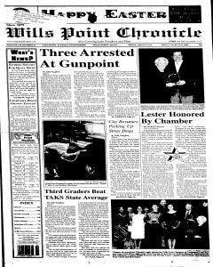 Wills Point Chronicle, March 25, 2005, Page 1