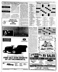 Wills Point Chronicle, March 25, 2005, Page 19