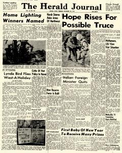 Logan Herald Journal, December 28, 1965, Page 1