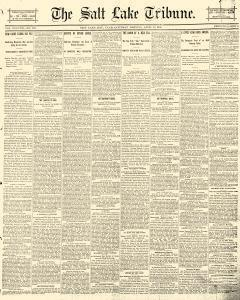 Salt Lake Tribune, April 26, 1890, Page 1