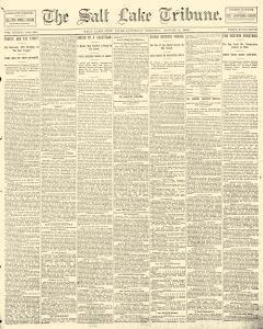 Salt Lake Tribune, August 02, 1890, Page 1