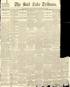 Salt Lake Tribune, October 15, 1890, Page 1
