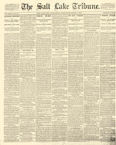 Salt Lake Tribune, December 05, 1890, Page 1