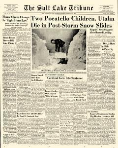 Salt Lake Tribune, February 08, 1949, Page 1