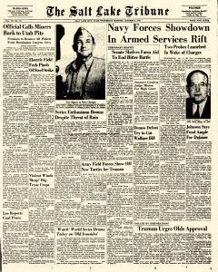 Salt Lake Tribune, October 05, 1949, Page 1