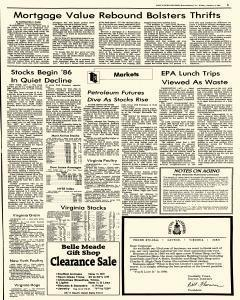 Harrisonburg Daily News Record, January 03, 1986, Page 5