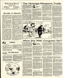 Harrisonburg Daily News Record, November 15, 1986, Page 6