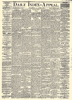 Daily Index Appeal, March 04, 1882, Page 1