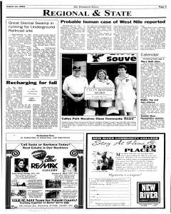 Pulaski Southwest Times, August 12, 2003, Page 3