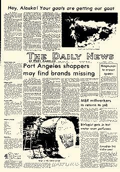 Port Angeles Daily News Of Port Angeles