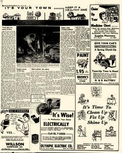 Port Angeles Evening News, April 26, 1958, Page 5