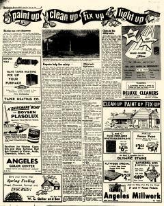 Port Angeles Evening News, April 26, 1958, Page 6