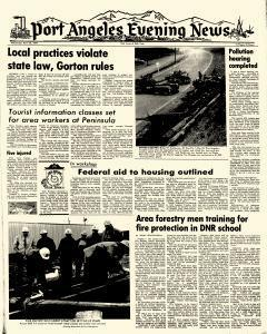 Port Angeles Evening News, April 30, 1969, Page 1