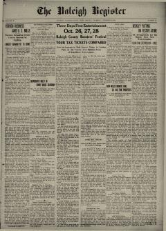 Raleigh Register, October 22, 1914, Page 2