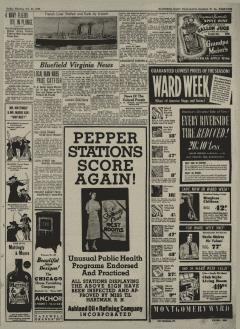 Bluefield Daily Telegraph, October 20, 1939, p. 5