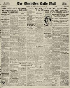 Charleston Daily Mail newspaper archives