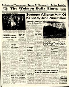 Weirton Daily Times, April 08, 1961, Page 1