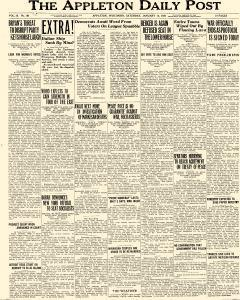 Appleton Daily Post, January 10, 1920, Page 1