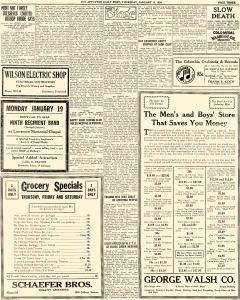 Appleton Daily Post, January 15, 1920, Page 3