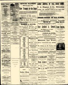 Eau Claire Daily Free Press, October 30, 1873, Page 3
