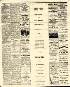 Eau Claire Daily Free Press, October 30, 1873, Page 2